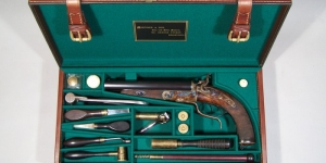 MORTIMER & SON 16-BORE HOWDAH CASE