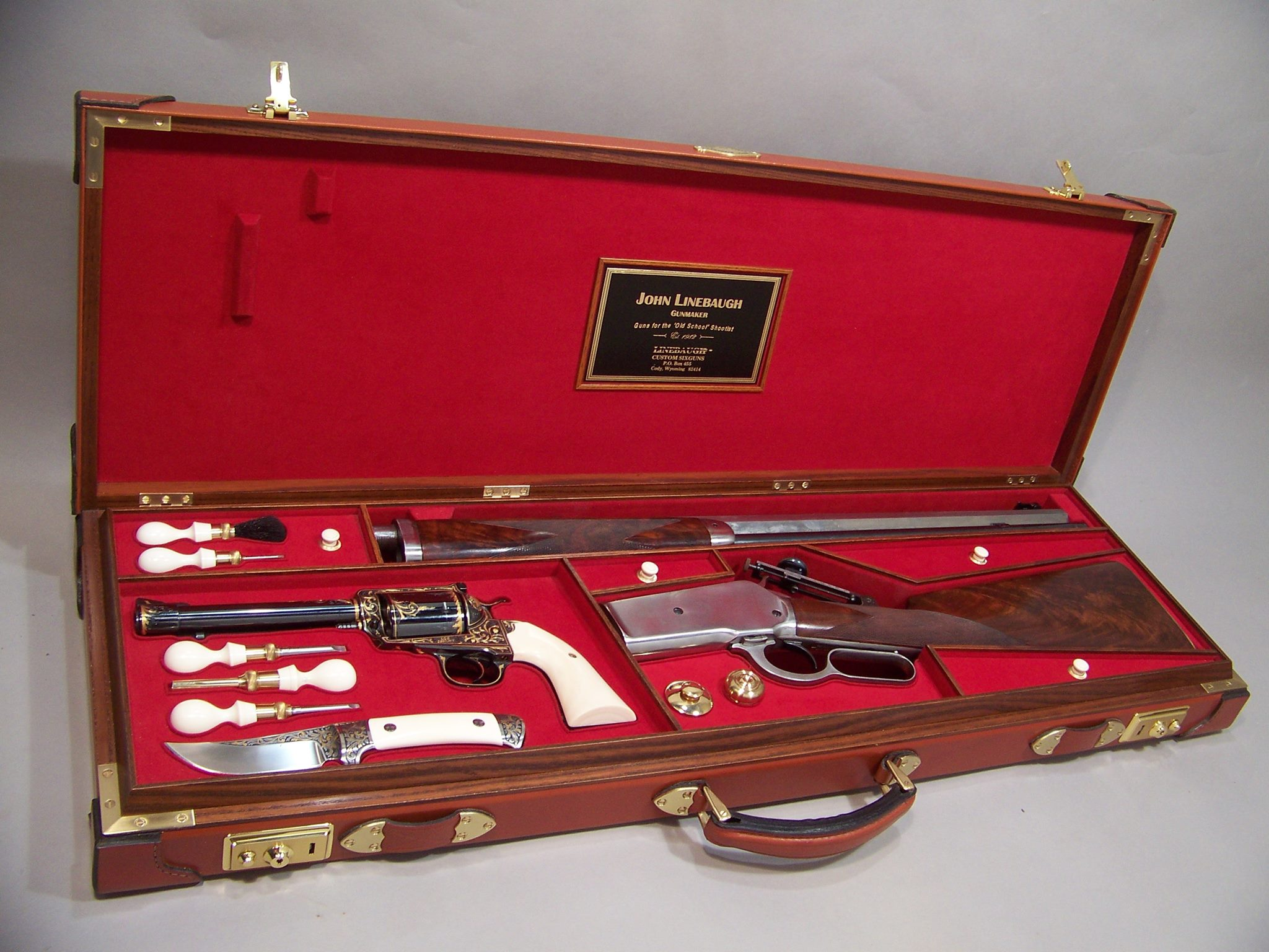 Trunk case for multiple firearms