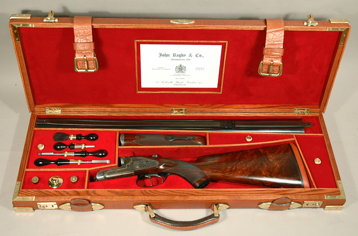 Standard case for shotgun or double rifle